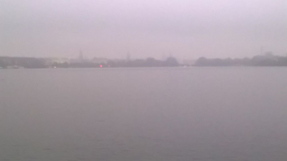 Alster Fog and Traffic Light