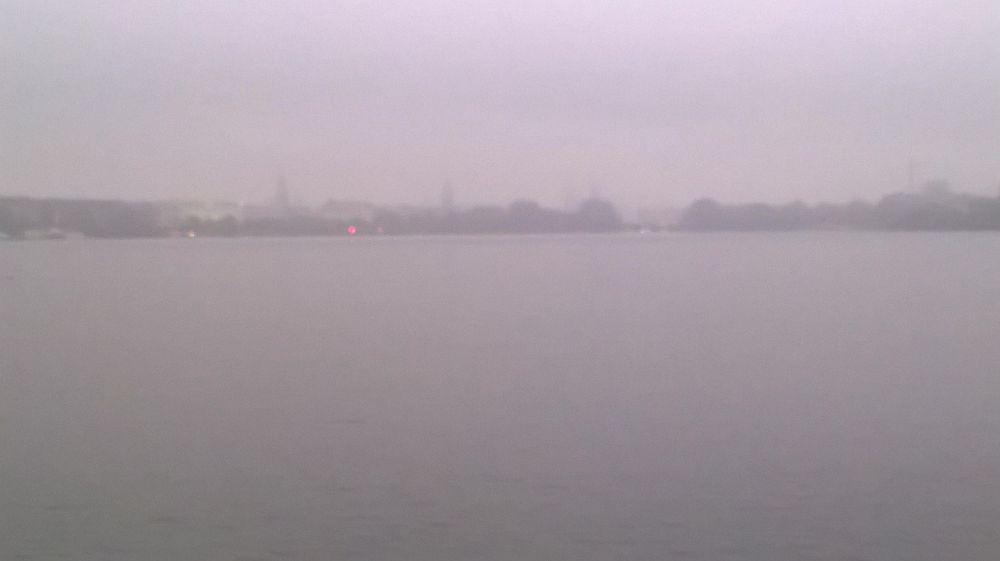 Alster Fog and Traffic Light