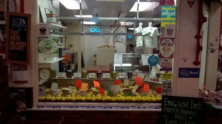 Artful Butcher at Covered Market