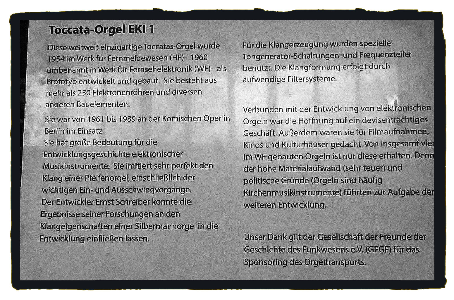 Toccata Orgel Text groß